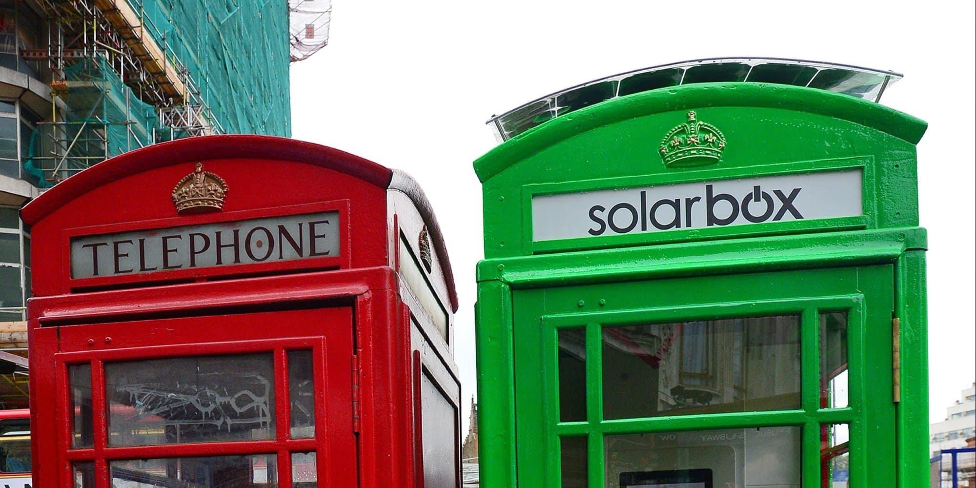 倫敦招牌電話亭
