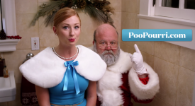 圣诞老人也是人!! 偷便便记得使用Poo-Pourri才能让你神不知鬼不觉~