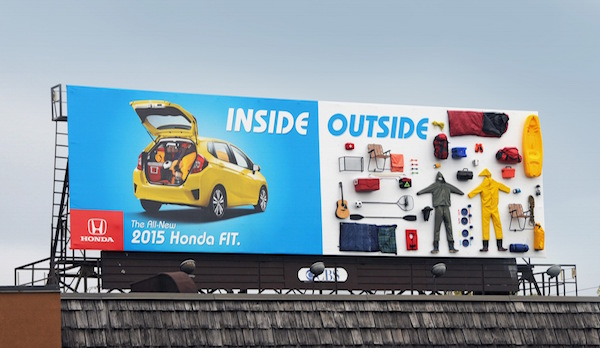 Honda FIT的創意行銷法!! 讓你一眼就明白他們的訴求~