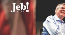 傑布·布希公佈競選2016年美國總統候選人LOGO