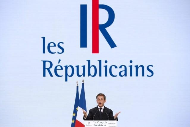 """法國最大在野黨改名""""共和黨""""並啟用新LOGO"""