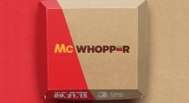 漢堡王和麥當勞共同推出了麥華堡-McWhopper!?