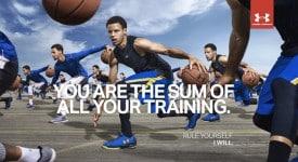 来势汹汹的Under Armour对抗Nike的全明星广告片