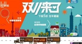 淘寶網舉行光棍節特賣,商機300億人民幣