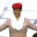 【案例】史上最霸氣「航空安全示範」!阿聯酋航空讓8 個空姐空降足球場