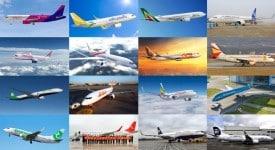 2015年有哪些航空公司換上了新LOGO