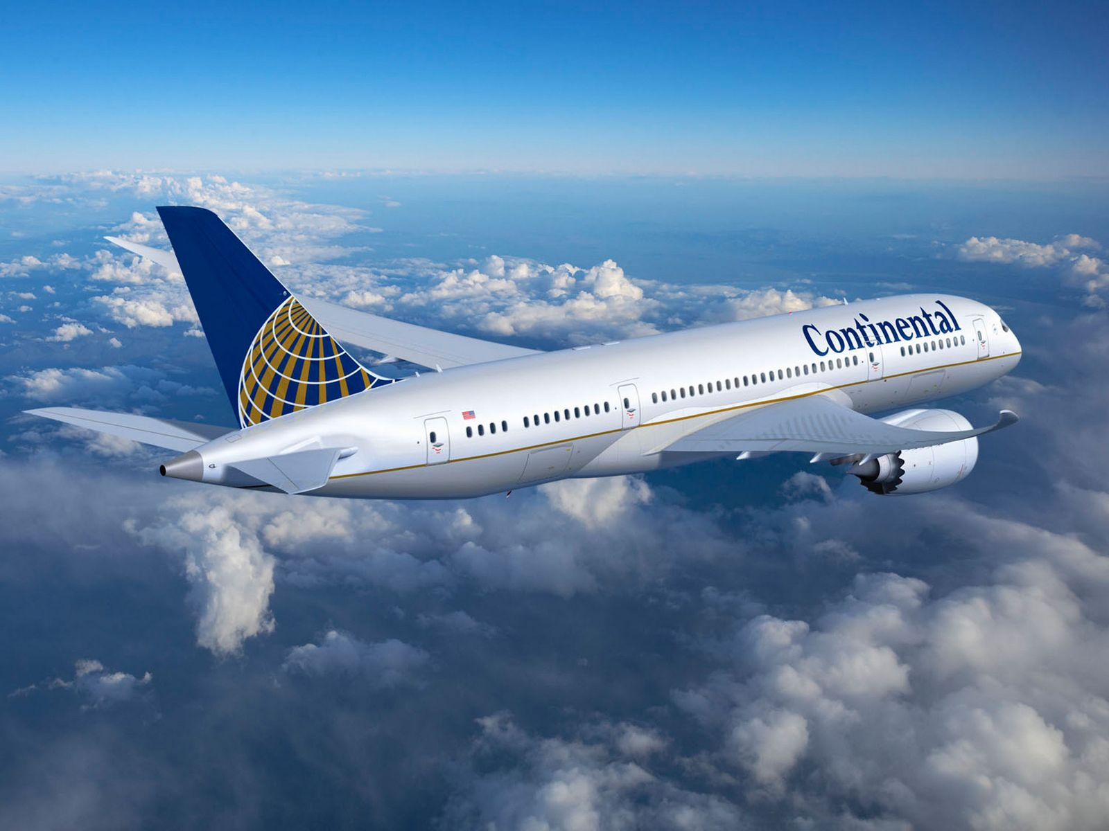 Continental Airlines ordered five 787-9 Dreamliners.  (PRNewsFoto/Continental Airlines) (Newscom TagID: prnphotos060427)     [Photo via Newscom]