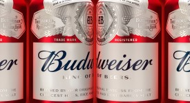 百威啤酒(BUDWEISER)啟用扁平化新LOGO和新包裝