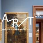 """英國全新的文化推廣計畫""""Art UK""""形象標識設計"""