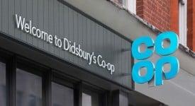 英國著名連鎖超市CO-OP更換新LOGO