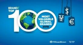 BrandZ 全球最具價值100大品牌:Google重返榜首,Apple屈居第二