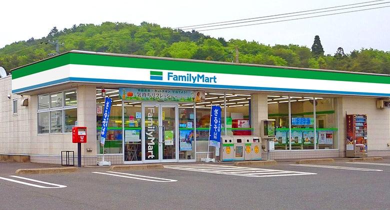 9月份开始全新的FamilyMart 全家便利商店店面装修效果