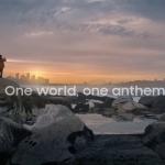 把15首國歌串成了一支曲子,三星為奧運帶來了無國界的和平歌聲