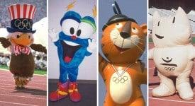 1972年以來12個奧運會吉祥物顏值大比拼