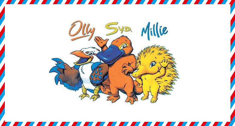 05-2000年悉尼奧運會吉祥物Olly、Sid和Millie