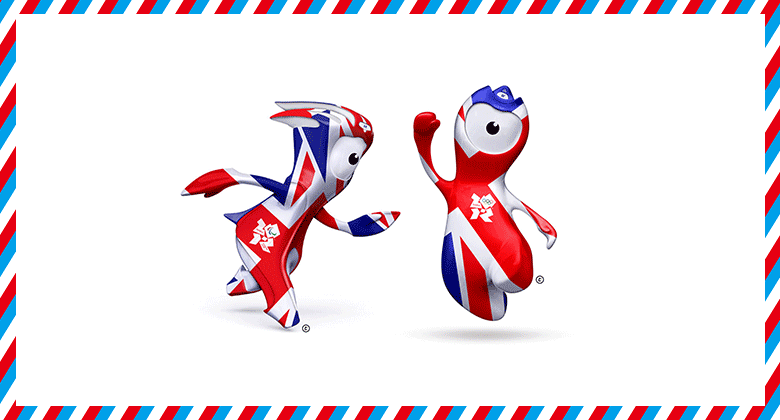 08-2012年倫敦奧運會吉祥物Wenlock