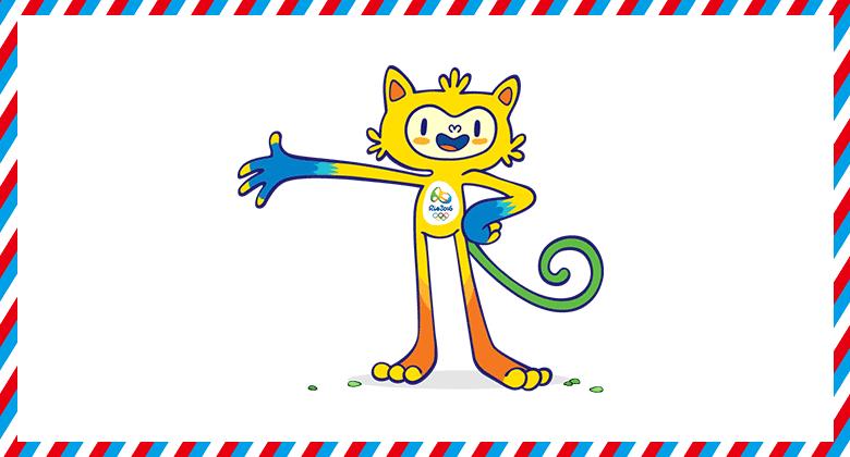 10-2016年裡約奧運會吉祥物Vinicius