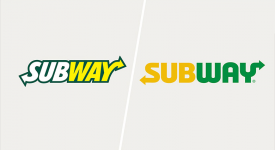 著名速食連鎖店Subway更換新LOGO