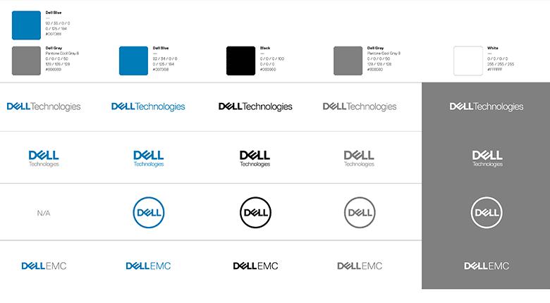 """戴爾集團(Dell)重塑品牌形像,推出""""瘦身""""新LOGO_06"""
