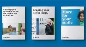 美國大都會人壽保險公司(MetLife)啟用新LOGO,史奴比再見了~