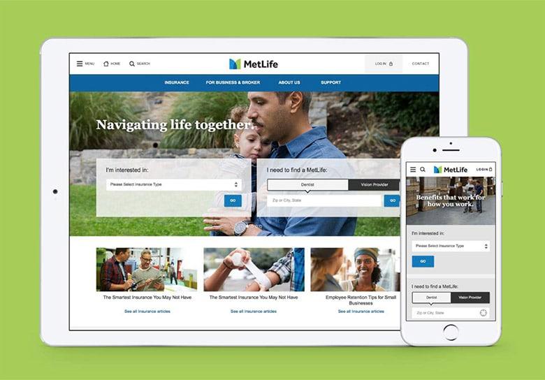 美国大都会人寿保险公司(MetLife)启用新LOGO_12
