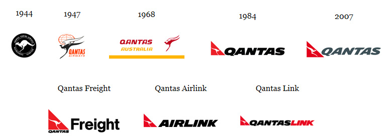 澳洲航空(Qantas)推出全新品牌LOGO_04-1