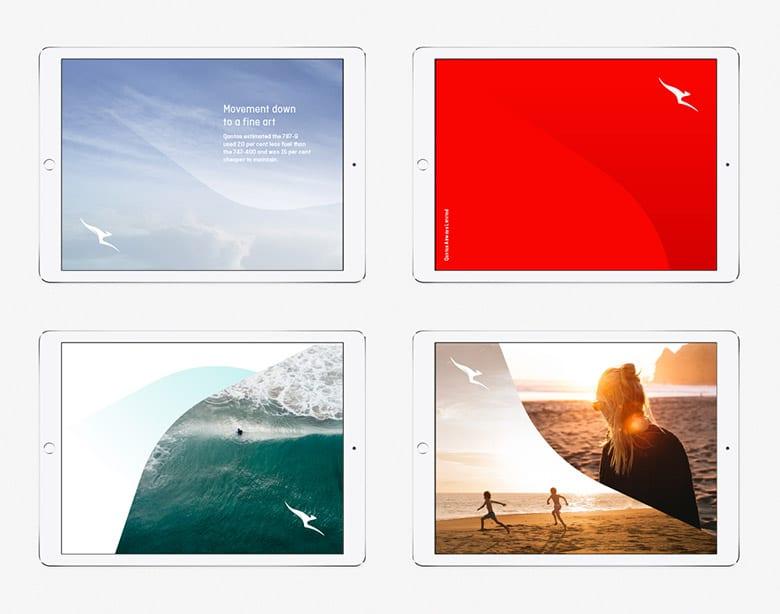 澳洲航空(Qantas)推出全新品牌LOGO_10