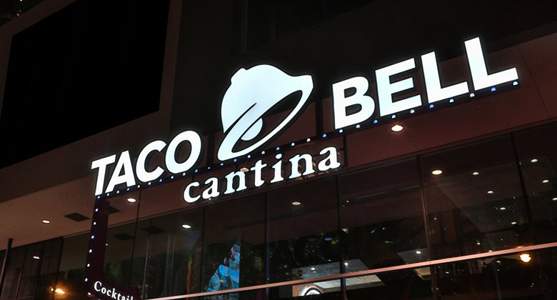 快餐連鎖巨頭-塔可鐘(Taco-Bell)更換新LOGO_01