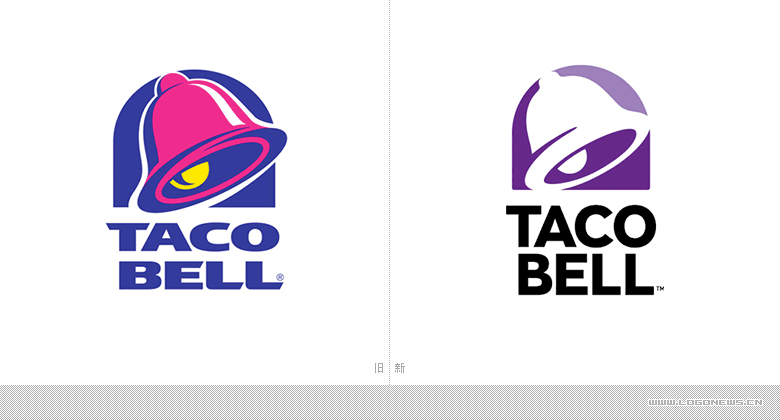 快餐連鎖巨頭-塔可鐘(Taco-Bell)更換新LOGO_02