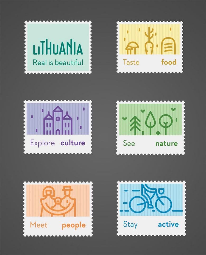 立陶宛(Lithuania)發布全新的國家旅游品牌LOGO_04