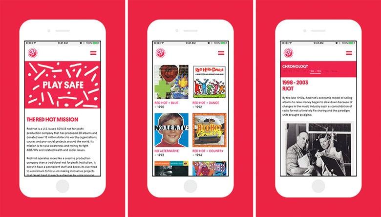 非營利性機構Red-Hot全新的視覺形像設計_09