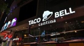 速食連鎖巨頭塔可鐘(Taco Bell)更換新LOGO