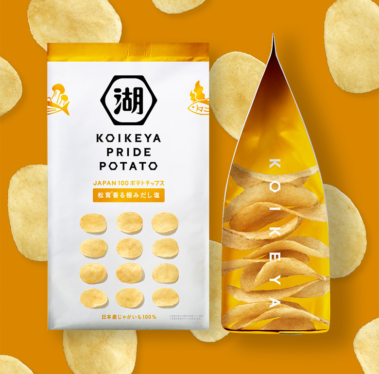 """日本休閑食品品牌""""湖池屋""""更換新LOGO和新包裝_11"""