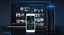 亞馬遜音樂無限(Amazon Music Unlimited)串流媒體服務發表新LOGO