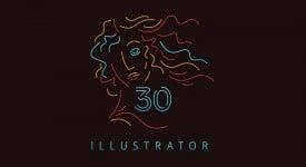 Illustrator 30歲啦,快來看看過去這30年的變化吧