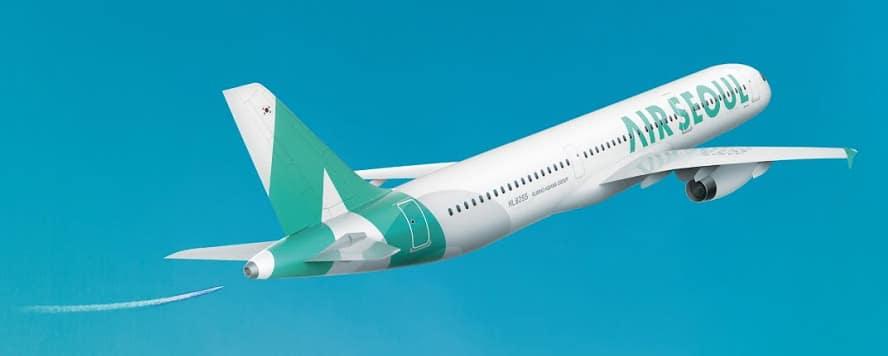 韓國首爾航空公司新成立,新LOGO啟用