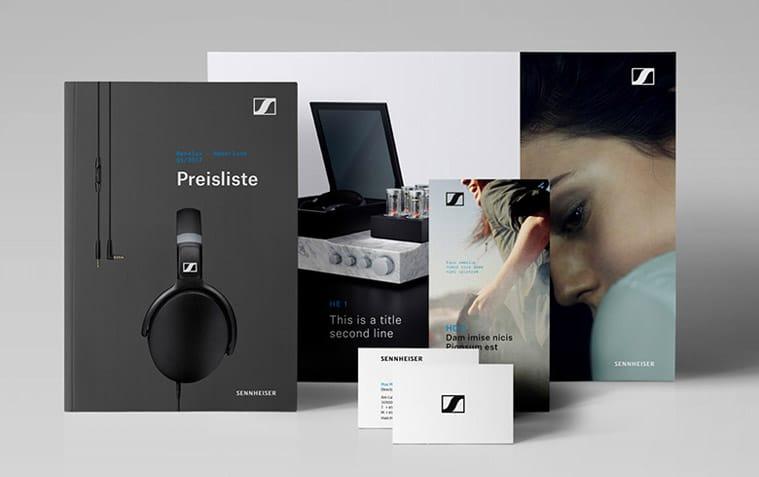 世界著名音頻設備品牌 森海塞爾(Sennheiser)微調LOGO