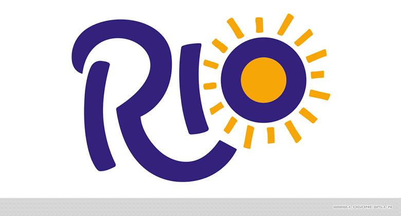 英国气泡果汁饮料品牌rio全新的logo和包装设计图片