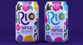 英國氣泡果汁飲料品牌Rio全新的LOGO和包裝設計