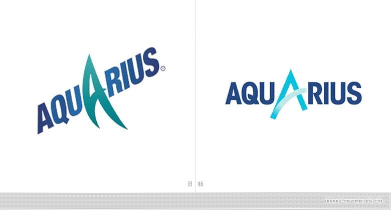 可口可樂運動飲料Aquarius(水動樂)重新設計LOGO和包裝