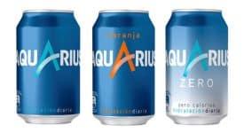 可口可樂運動飲料Aquarius(動元素)重新設計LOGO和包裝
