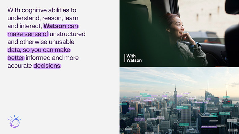 IBM人工智慧平台Watson(華生)更換新LOGO