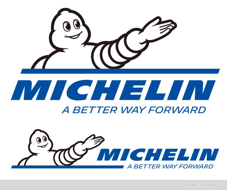 輪胎及橡膠製品製造商 米其林(Michelin)啟用新LOGO
