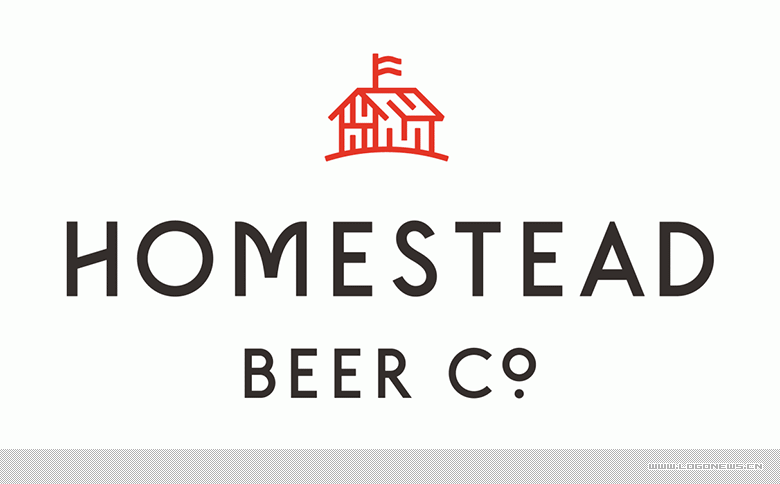 美國Homestead啤酒正式啟用新的品牌LOGO設計