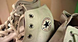 知名运动鞋品牌Converse品牌升级更换新LOGO