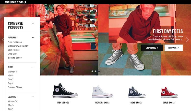 知名運動鞋品牌Converse品牌升級,更換新LOGO