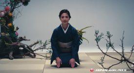 日本航空公司廣告,將飛行拍出了獨具匠心的文化內涵