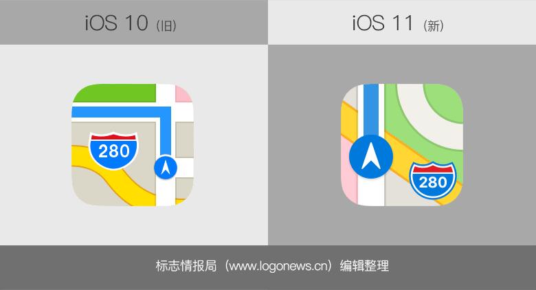 蘋果iOS 11不僅改了界面,還重新設計了這9個應用圖標
