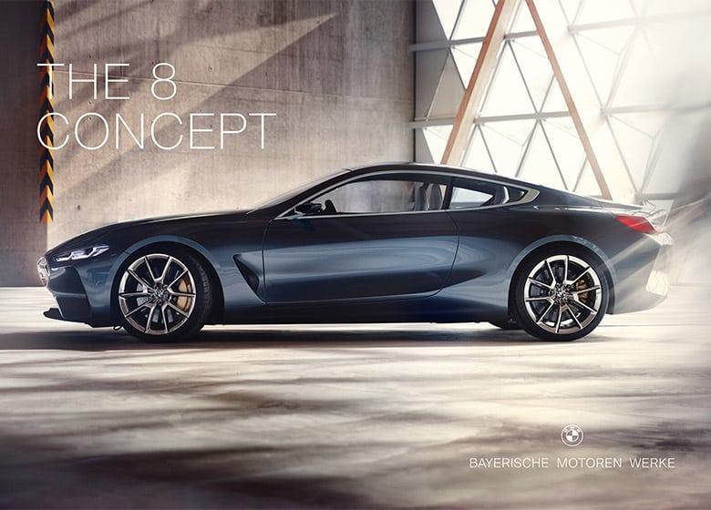 寶馬汽車(BMW)為高端豪華車發布扁平化新LOGO