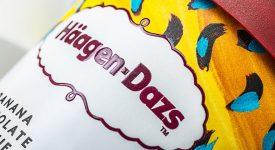 哈根達斯(Häagen-Dazs)品牌重塑,推出新LOGO和新包裝